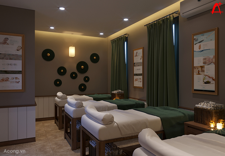 Thiết kế Excellence Spa Hạ Long